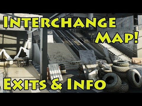 Interchange Extracts & Info - Escape From Tarkov - YouTube