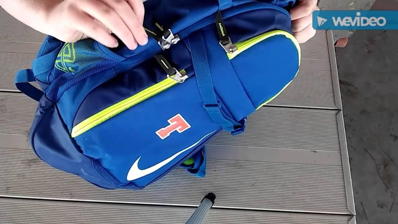 Nike Vapor Elite Baseball backpack - YouTube c093a1f67013e
