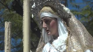 Procesión Gamarra 2015. Virgen de regreso.