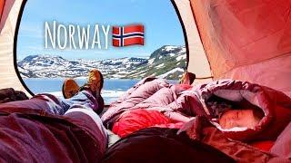Природа Норвегии, дорога из Осло в Стокгольм. На машине в Европу (Toyota Land Cruiser). Часть 8