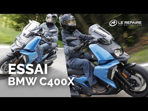 Essai BMW C400X (2018)