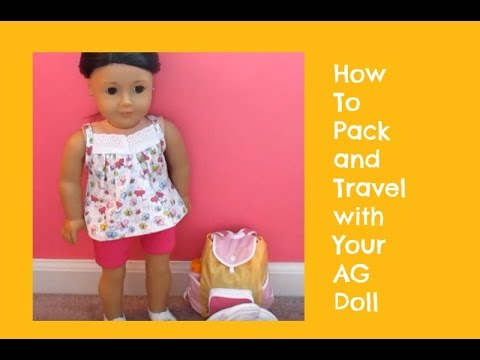 how to pack your ag doll for a sleepover