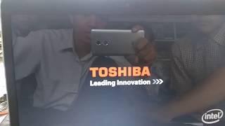 Bios Laptop Toshiba C640 dan Instal Ulang Win 7 64bit Pro