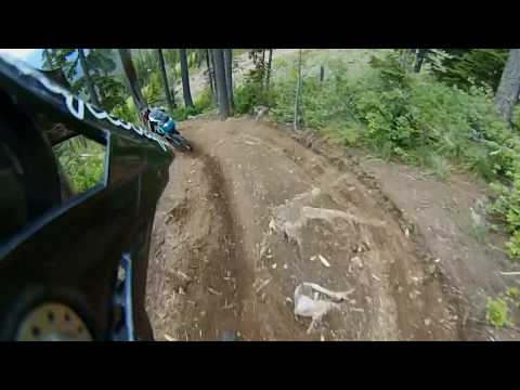 NW Cup 4 2018 Silver Mountain Practice Run CAT2 40-49