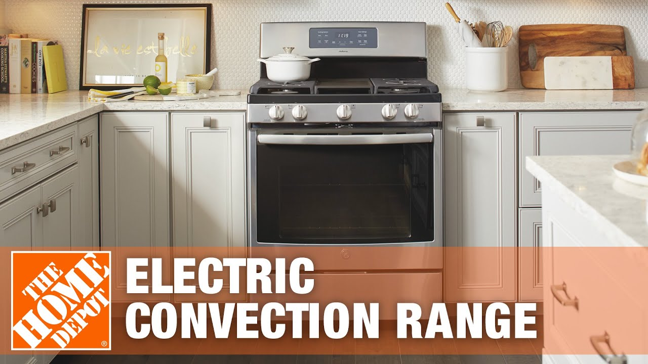 range oven freestanding convection ge watch youtube cafe home electric depot the in cleaning toaster self