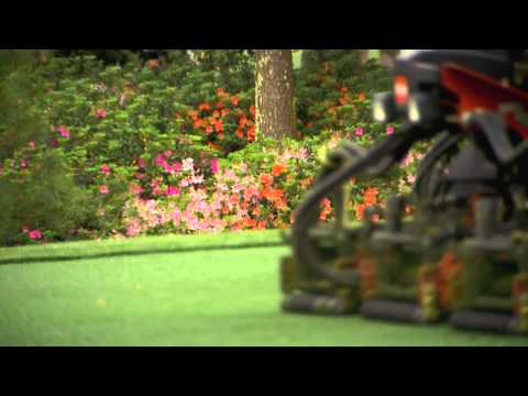 Majesty of the Mowers at Augusta National