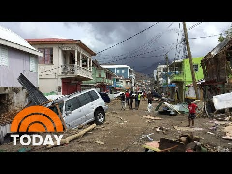 Hurricane Maria Lashes Turks And Caicos With Damaging Winds And Rain | TODAY