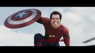 SALIM KUMAR IN & AS SPIDERMAN |ULTIMATE FIGHT | Troll malayalam