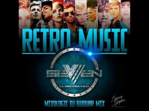 MUSIC DE LOS 80  SEVEN LA DESTRUCTORA  DJ EWDUAR MIX