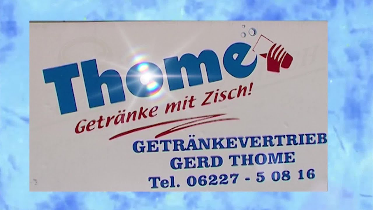 Thome Getränke Vertrieb Lieferservice St Leon Rot Werbespot - YouTube