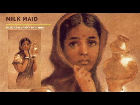 Milk Maid by Raja Ravi Varma