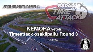 Timeattack finland 2015 - Osakilpailukooste, round 3 - Kemora 16.6.2015 - molsapictures.fi
