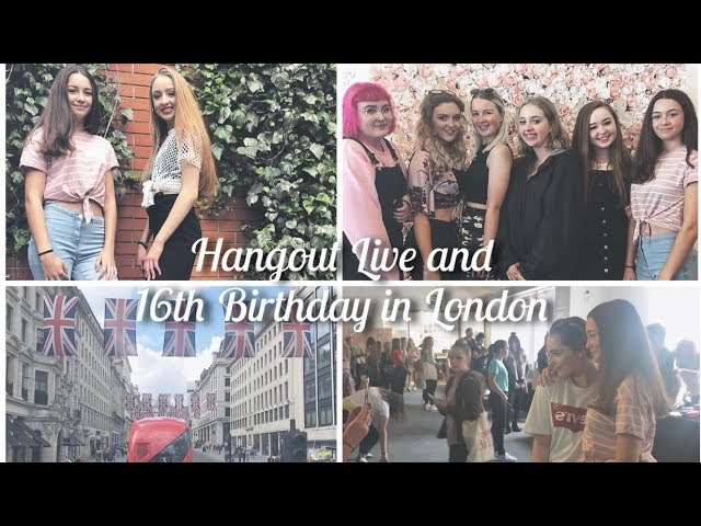 Hangout Live and 16th Birthday