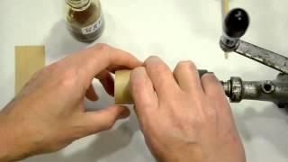 Ремонт динамиков. Изготовление гильзы своими руками.(Подробнее об этом в цикле статей: http://oldoctober.com/ru/loudspeaker_4/ Это иллюстрация процесса изготовления гильзы для..., 2012-09-26T13:48:10.000Z)
