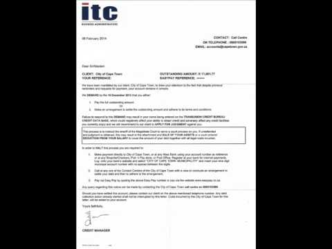 itc business administrators (12.02.2014) - cape town, the city that doesn't work for you...