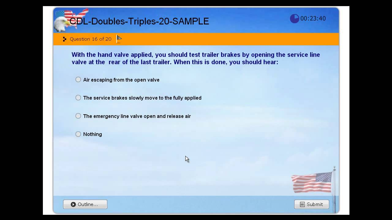 Double Triple Trailers - CDL Commercial Driver License - Practice ...