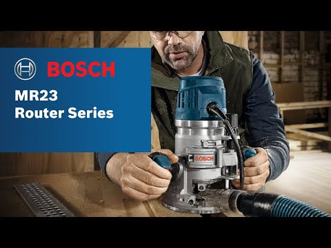 Bosch power tools mr23 router series product video youtube bosch power tools mr23 router series product video greentooth Image collections
