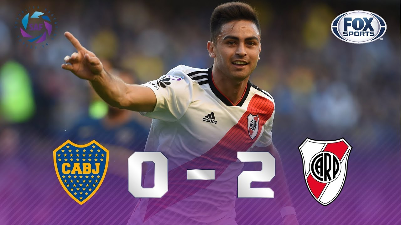 Boca Juniors - River Plate [0-2] | GOLES | Superliga Argentina Fecha 6 | FOX Sports