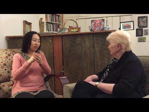 Focusing Demonstration  Lynn Preston with Xuejing Lin