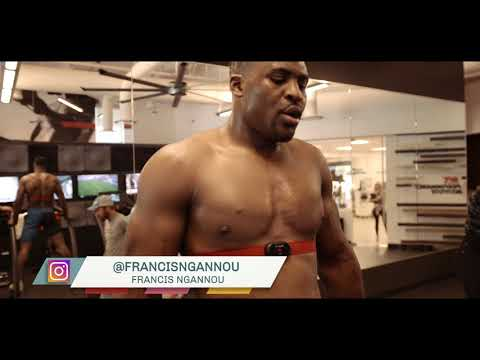 Joe Rogan on Francis Ngannou training at the UFC Performance Institute