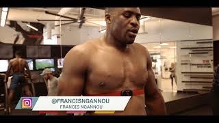 Joe Rogan on Francis Ngannou training at the UFC Performance Institute
