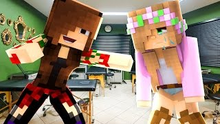 LITTLE KELLY IS BULLIED INTO TATTOO BY RAVENS EX GIRLFRIEND | Minecraft LOVE STORY | Custom Roleplay