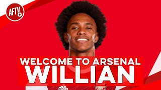 Welcome to Arsenal, Willian!
