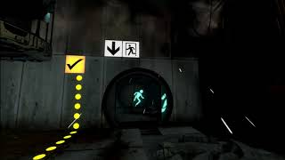 Let's Play Portal 2 (BLIND) - Part 1 [No Commentary]