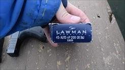 Glock 30 Speer lawman 200 Grain +p TMJ