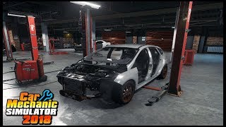 JUNKYARD FORD FOCUS RS BUILD - Car Mechanic Simulator 2018