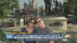 Local couple visits Tokyo Disneyland, Disneyland and Disney World on Valentine's Day