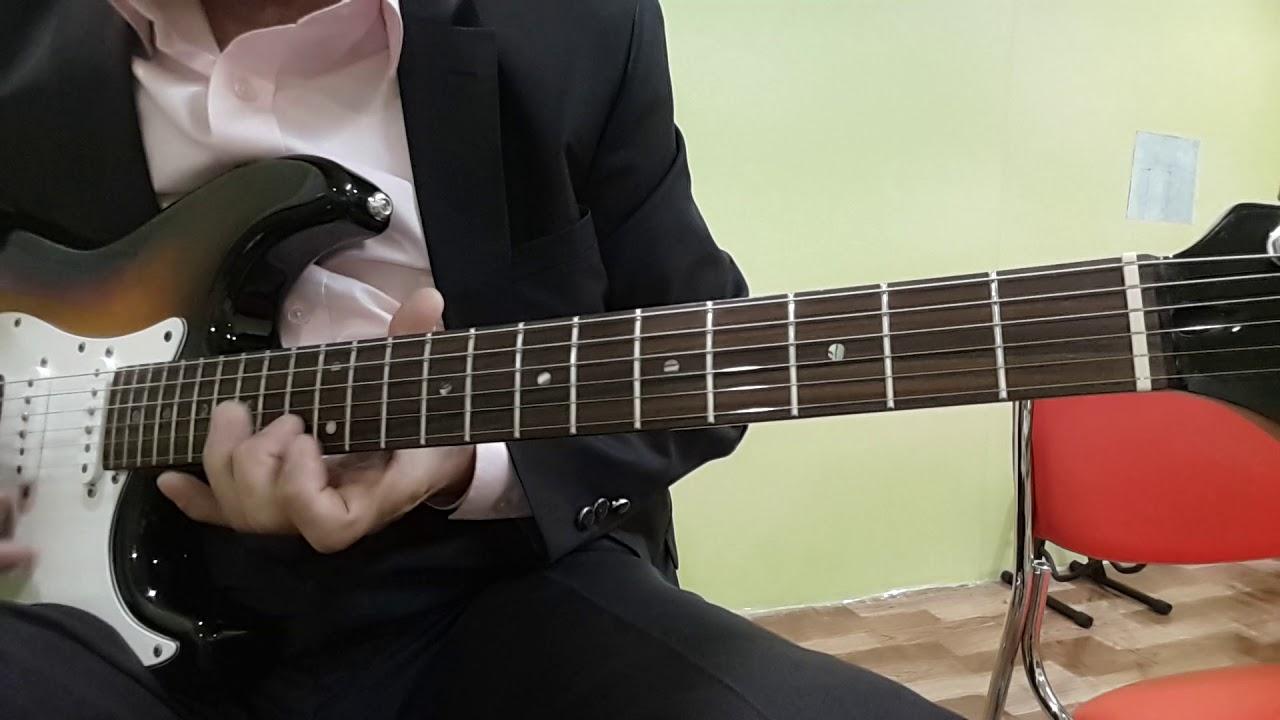 벤쳐스 : 파이프라인 기타스케일 - YouTube