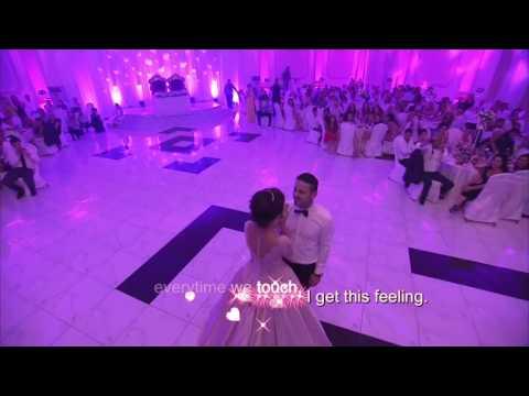 [ lyric ] Everytime We Touch - Cô dâu hát tặng chú rể trong lễ cưới hay nhất thế giới
