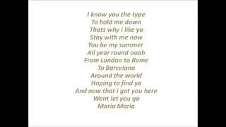 faydee maria lyrics