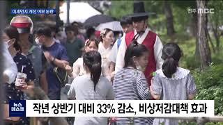 """[뉴스데스크]미세먼지 개선됐나?.. """"측정망 …"""