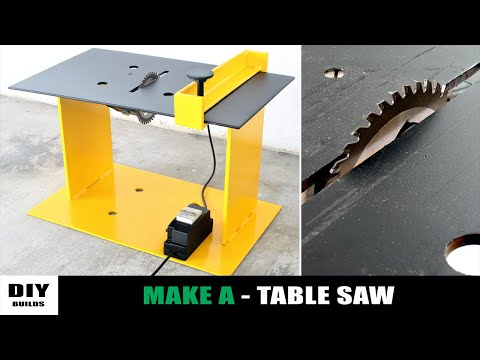 How To Make A Homemade Table Saw | DIY Table Saw | Angle Grinder Hack
