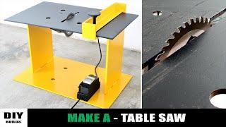 How To Make A Homemade Table Saw | DIY Table Saw | Angle Grinder Hack