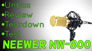 best budget microphone neewer nw 800 review   unbox   setup   test an idiots guide