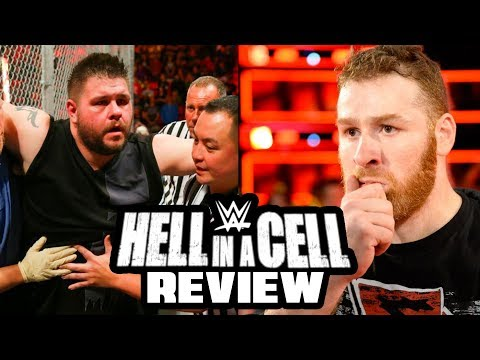 WWE Hell In A Cell 2017 REVIEW (Going in Raw Pro Wrestling Podcast Ep. 297)