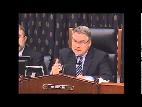 Subcommittee Chairman Smith Questions Witnesses at Hearing on Implementation of Goldman Act