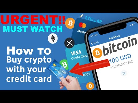 How To Buy Bitcoin With Credit Card (Buy Cryptocurrency With Credit Card)