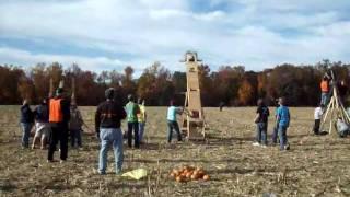 Shiloh Seventh Day Baptist Giant Pumpkin Slingshot