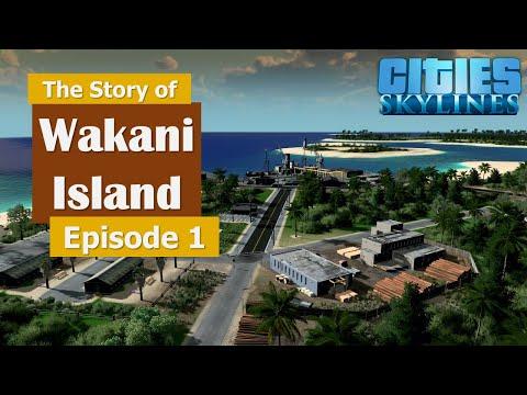 Port Winston - Cities Skylines - The Story of Wakani Island Episode 1