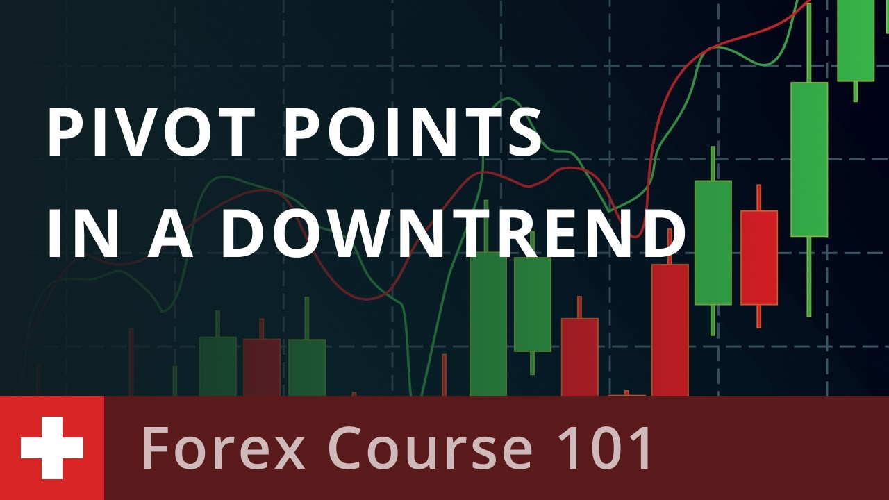 Forex Course 101: How to Trade Pivot Points in a Downtrend