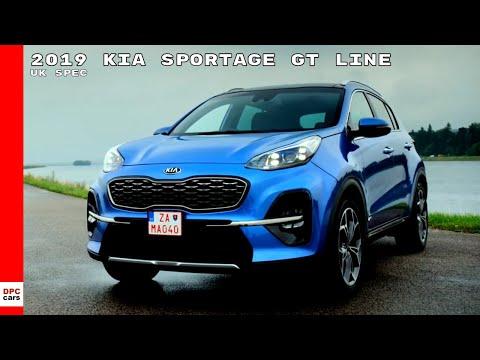 2019 Kia Sportage Gt Line Uk Spec Youtube