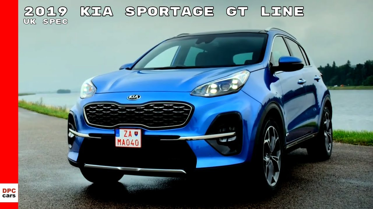 2019 kia sportage gt line uk spec youtube. Black Bedroom Furniture Sets. Home Design Ideas