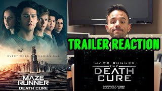 Maze Runner : The Death Cure - Final Trailer Reaction and Review