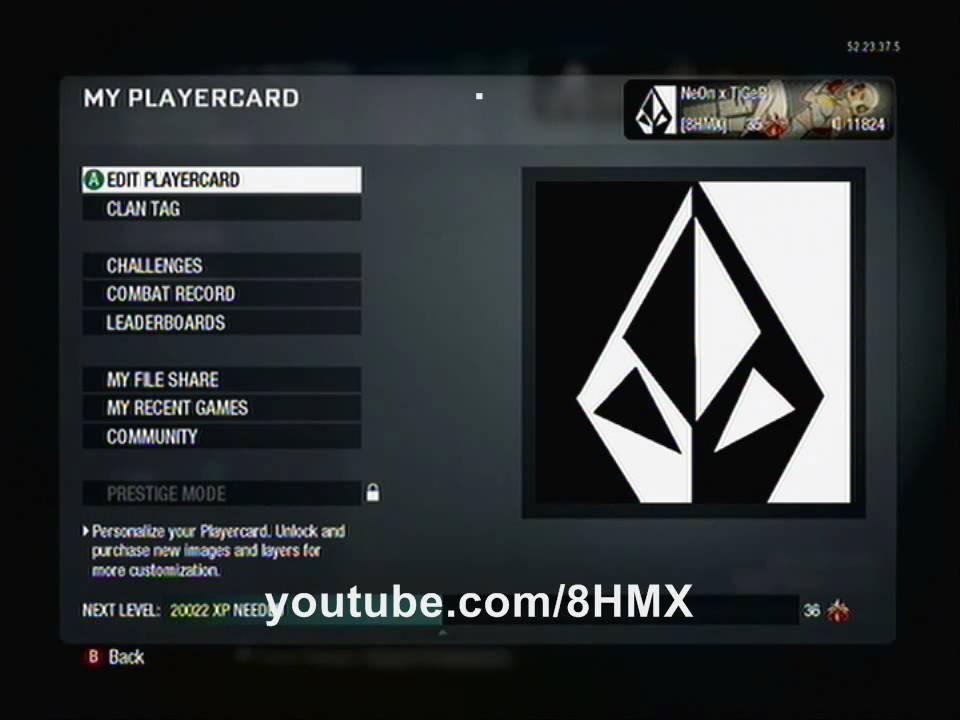 Call Of Duty Black Ops Volcom Logo Custom Emblem Tutorial Youtube