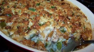 French Onion Green Bean Casserole - Gluten Free Recipe