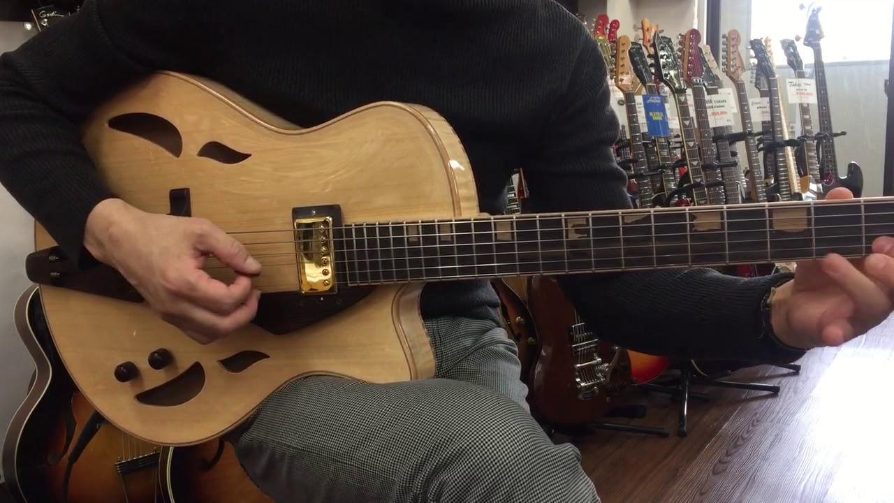 yamaoka archtop guitars strings art jg 1 last guitar youtube. Black Bedroom Furniture Sets. Home Design Ideas
